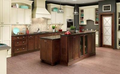 American Woodmark Leesburg cabinets - Pro Construction Guide