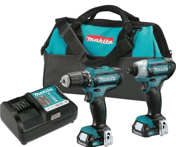Makita's compact 12V Max CXT Lithium-ion kit 3