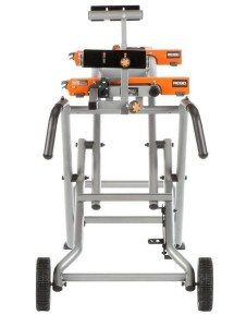 Miter saw stand moves easily 2