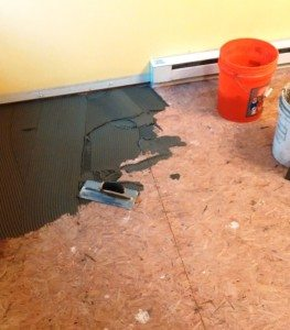 How to Install underlayment for tile