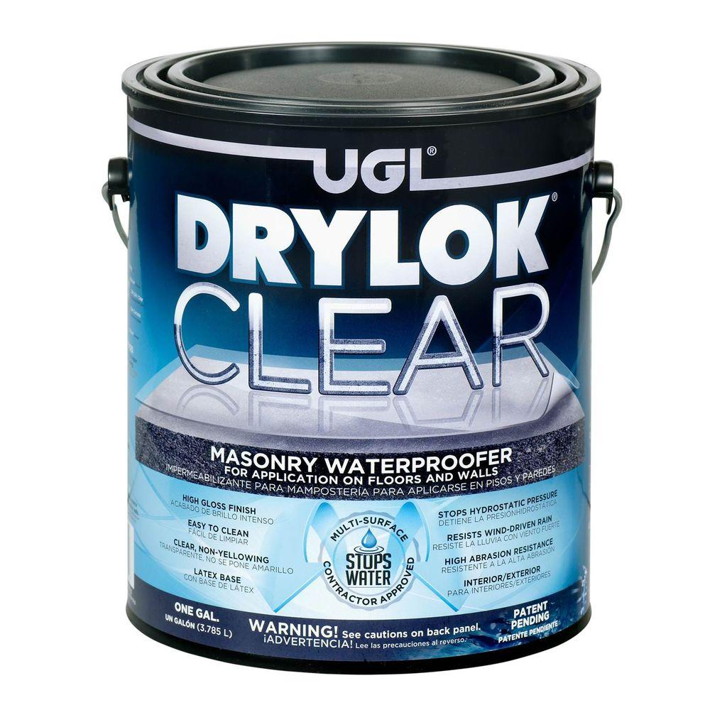Clear Masonry Waterproofer Pro Construction Guide