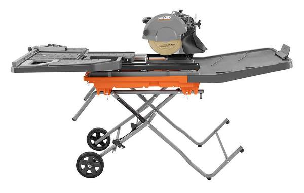 Ridgid Beast 10 Inch Wet Tile Saw Pro Construction Guide