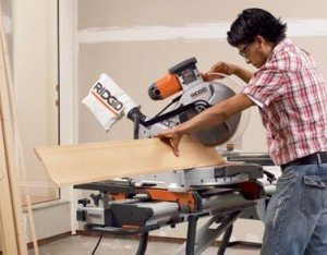 Safety tips for miter saws