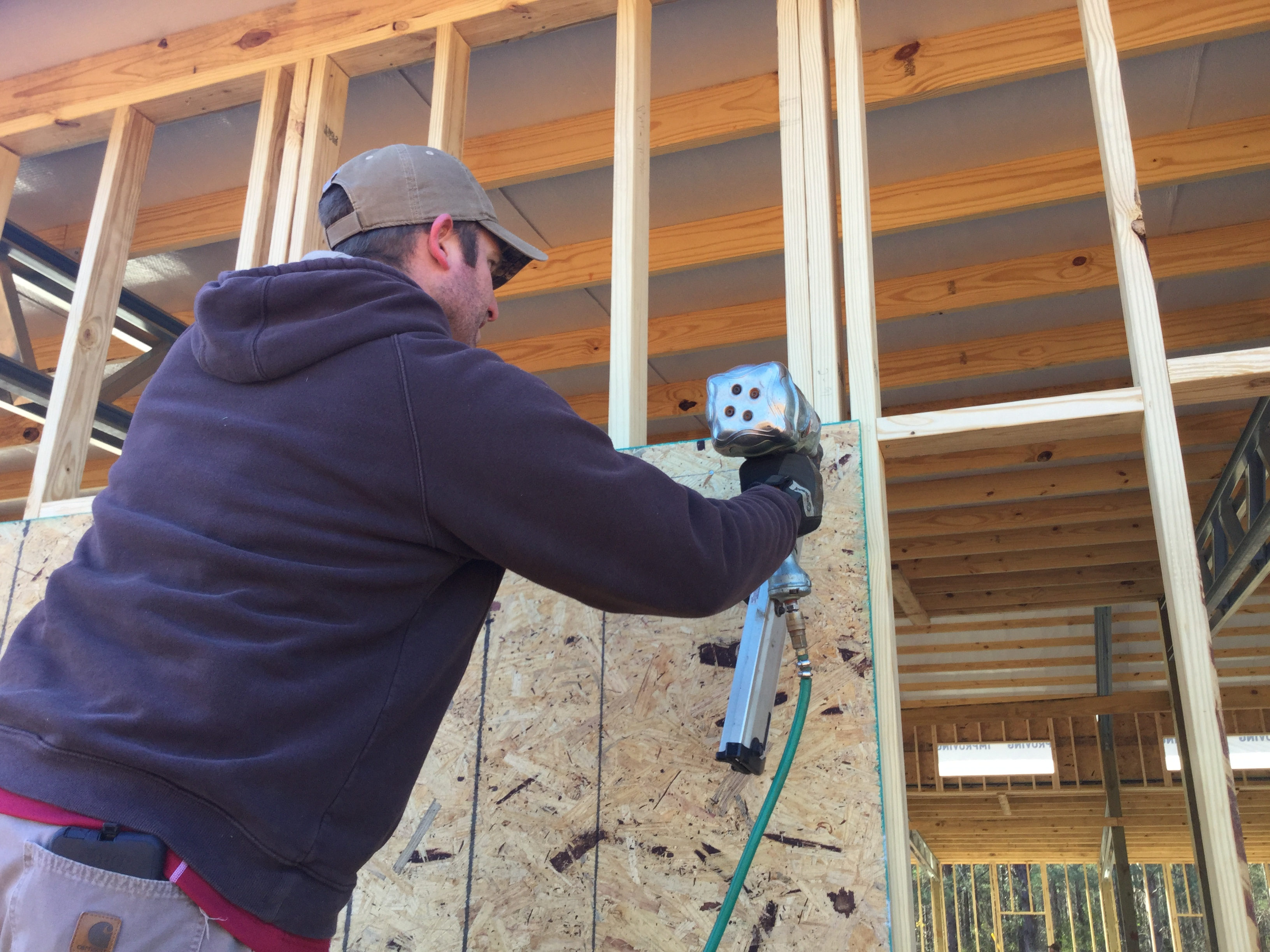 Installing Plywood Sheathing And House Wrap