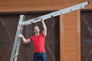 Werner Switchback two-in-one ladder