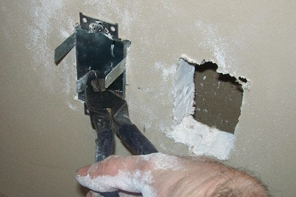 How to fish electric wire through a wall for How to fish wire through insulated wall
