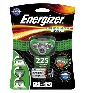 Energizer® Vision HD 225 Lumen LED-Headlight