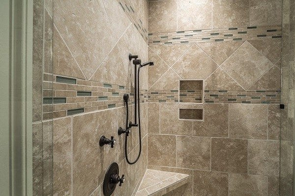 Tackling a shower tile backsplash