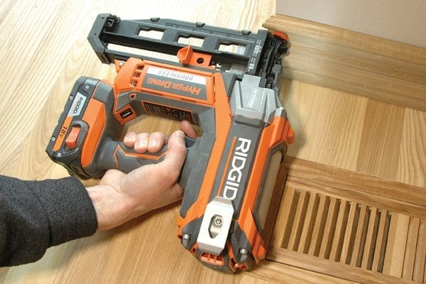 Battery-Powered 16-Gauge Finish Nailers
