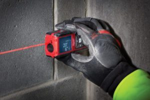 Laser meters are easier and faster to use than tape measures