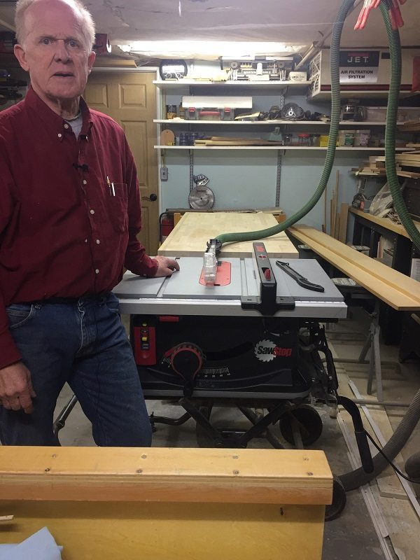 Ronald Sauvé started working in building trades in 1970.