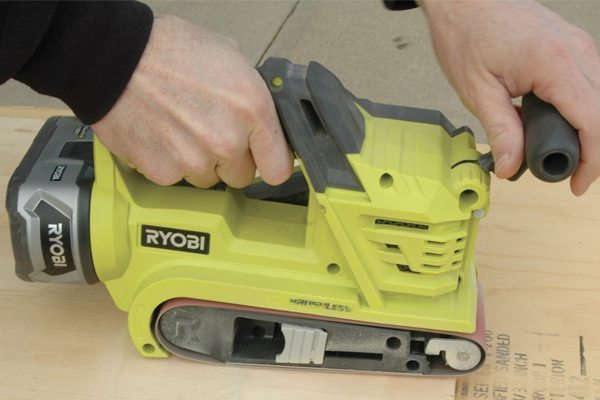 Cordless Finish And Belt Sanders Pro Construction Guide