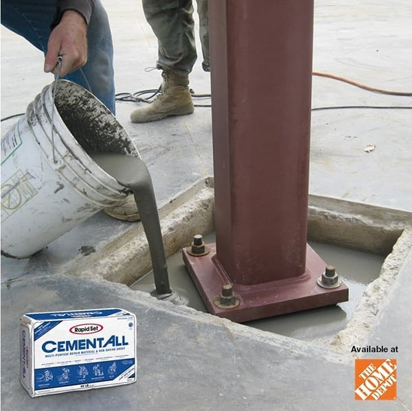 Use Rapid Set products for your concrete jobs.