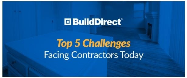 Top challenges faced by contractors today