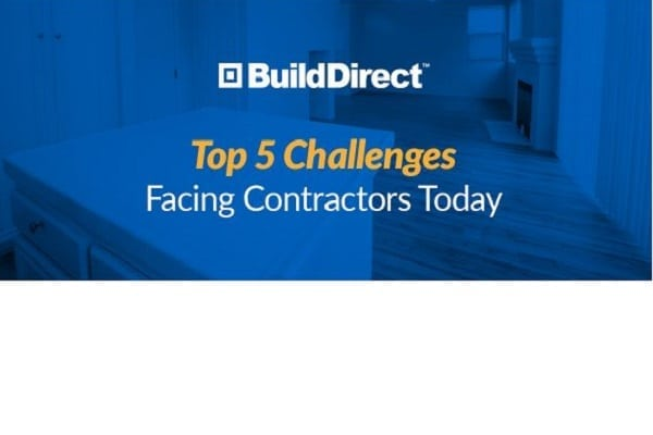 Top 5 challenges facing contractors today
