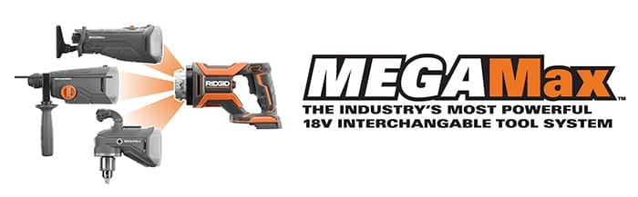 MEGAMax , the interchangeable tool system