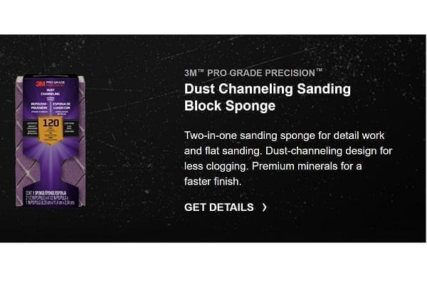 3M Sanding Products For The Pro